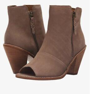 Women's Corso Como Tameka Ankle Bootie,Mid Brown Nubuck, Size 10/ New in Box!!