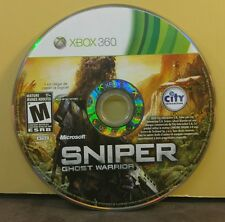 SNIPER GHOST WARRIOR (XBOX 360) USED AND REFURBISHED (DISC ONLY) #10862