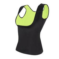 Womens Slimming Vest Sweat Body Shaper Push Up Neoprene Hot Shirt Yoga Tank Top