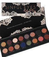 Italia Deluxe Sinful Eyes Teddy Bare Roleplay Palette Eyeshadow Blush Eye Shadow