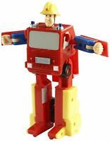 Fireman Sam Convertible Fuego Motor Figura de Acción Transformer Juguete Playset