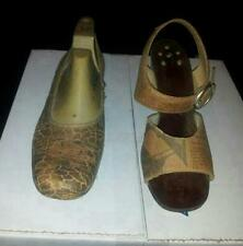 Antique Shoes Made Out Of Newspaper