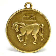 """YEAR of the HORSE GOOD LUCK CHARM 1"""" Chinese Zodiac  HIGH QUALITY Horoscope"""