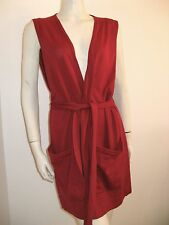 GUCCI SLEEVELESS SHRUG SWEATER WOOL SILK CASHMERE MADE IN ITALY VINTAGE 1970's
