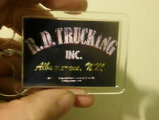 CONVOY   RUBBER DUCK  TRUCKING  CB  10/4   LARGE   60MMX 45MM KEY RING