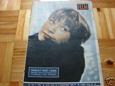 Shirley MacLaine front cover Polish mag FILM 1962