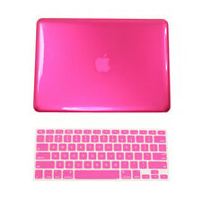 "2in1 HOT Pink Case for Macbook Pro15"" A1398 /Retina display+Key Cover"