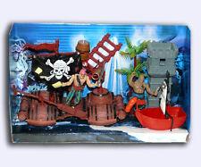 FIGURE PIRATA con Pappagallo Nave Barca Ladder ricerca Torre Albero & altri giocattoli