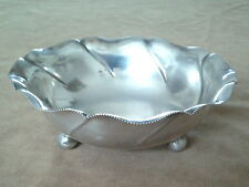 Antique Austrian Silver 800 Bowl with Diana's Head Hallmark. Pest, 1872-1922