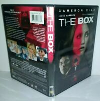 THE BOX* [DVD SCI-FI HORROR FILM 2009] Cameron Diaz James Marsden Frank Langella