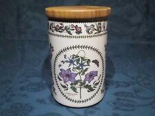 "Portmeirion Botanic Variations 8"" Airtight Storage Jar - Clematis Florida"