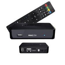 Mag 250 STB BOX Multimedia player Internet TV BOX IPTV ORIGINALE USB HDTV HDMI