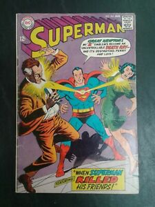 Superman #203 DC Comics January 1968 Silver Age! 12 cent! VG 4.0! 20% OFF!