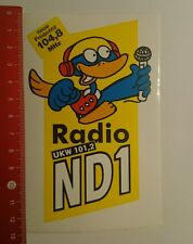 ADESIVI/Sticker: radio nd1 VHF 101,2 (27081652)