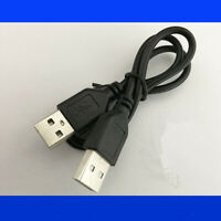 100CM USB 2.0 Type A Male Plug to USB 2.0 A Male Plug Adapter Short Cable Cord