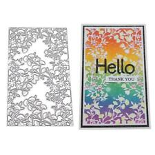 Lace Flower Metal Cutting Dies Stencil DIY Scrapbooking Album Paper Card Craft