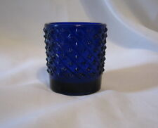 "Rare Vintage Fake Heisey 1970'S Cobalt Blue Toothpick Holder Stars ""FAKE"" China"