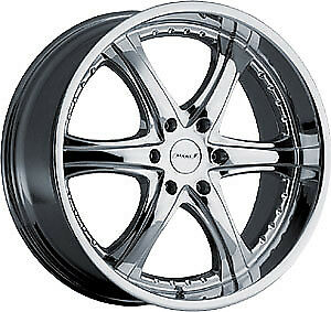 "Maas 53 Chrome wheels 20""x8.5"" 6H 139.7"