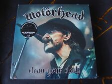 Slip Treble: Motorhead : Clean Your Clock : CD, Blu-Ray & Book Sealed