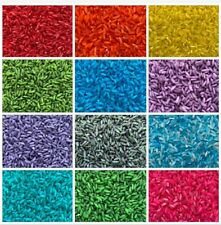 Sensory Rainbow Coloured Rice 1kg Themed Colours or Custom Orders Special needs