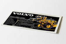 Lego Technic UCS / MOC Sticker for VOLVO L350F Wheel Loader 42030
