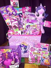 My Little Pony FIM Princess Twilight Sparkle 24 Item Deluxe Basket Gift Set LOT