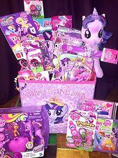 My Little Pony FIM Princess Twilight Sparkle 24 Item Deluxe Basket Gift Set LOT