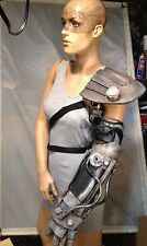 Custom Cyborg Arm Shoulder Pad, Imperator Furiosa, Mad Max Costume. Steam Punk.
