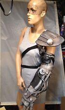 Custom Cyborg Arm & Pad, Imperator Furiosa, Mad Max Costume. Steam Punk. Prop