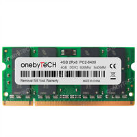 4GB 8GB 16GB 2Rx8 PC2-6400S DDR2 800Mhz NON ECC Notebook SODIMM 200 pin Memory