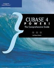 Cubase 4 Power!: The Comprehensive Guide, 504 Pages, 331491