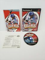 High Heat Baseball 2002 (Sony PlayStation 2, 2001) PS2 Complete w/ Manual Tested