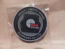 AIRSOFT SPORTS GUNPOWER TACTICAL GEAR FIREARMS RUBBER HOOK & LOOP BACKED PATCH B