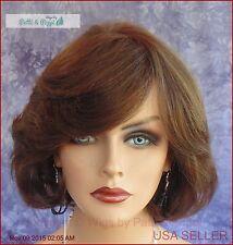 PREMIUM HUMAN HAIR LAYERED BOB WIG CLR #4 CUTE CLASSY STYLE US SELLER *113 A