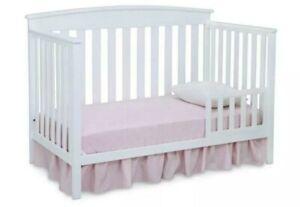 Delta Children Gateway 4-in-1 Crib - White Infant & Toddler