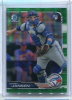 2019 Bowman Chrome DANNY JANSEN RC Green #/99 - Toronto Blue Jays