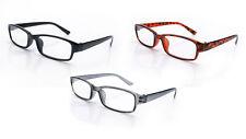 Reading Glasses 3 Mix Packs Mens Womens UV Reader Trendy Designer Spring Geek