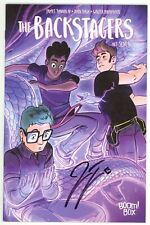 Backstagers (2016) #7 1st Print Signed James Tynion IV No COA Boom Rian Sygh NM-