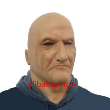 Realistic Man Latex Mask Old Male Disguise Halloween Fancy Dress Bruiser Bouncer
