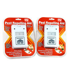 2X Riddex Plus Pest Repellent for Rodents, Roaches, Ants, Spiders As Seen on Tv