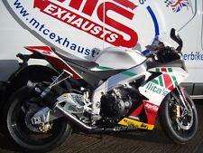 Aprilia RSV4 Black GP Pro RACE Performance Motorbike Exhaust Can