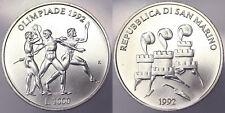 1000 Lire 1992 Olimpiadi del 1992 San Marino #1138