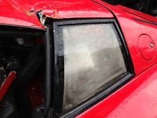Ferrari Testarossa 1986 Year Left Side Rear Glass Window  Testarossa Parts