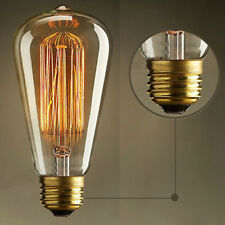 1X 220V 40W E27 Filament Light Bulb Vintage Decor Industrial Style Lamp Eddison