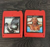 Ferrante & Teacher 2 8 Track Tapes Tested and working!