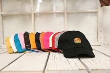 New Hamburger Baseball Cap Hat Many Colors Available
