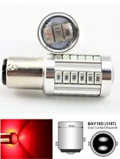 Front Signal Light 1157 2057 3496 7528 BAY15D P21/5W 33SMD LED Bulb Red M1 MA