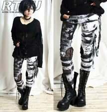 Authentic RTBU Punk Gothic Rocker Distressed Legging Pants - size Medium