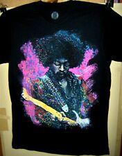Jimi Hendrix in Concert Art Shot Pre Worn T-Shirt Size Medium Very Cool