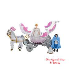 Disney Parks Extremely RARE Princess CINDERELLA WEDDING Horse carriage Play Set